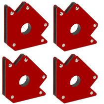 Escuadra Magnetica Set De 4 Piezas Para 34 Kg