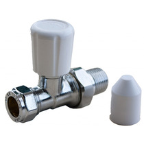 Radiador Válvulas - Oracstar Recto 15mm Fontanería Accesor