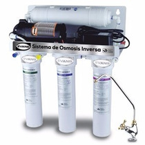 Purificador De Agua Con Bomba, Tanque Y Cartuchos Ro-50g-ffb