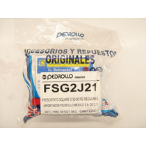 Presostato 30-50 Psi Regulable Pedrollo Italiano