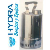 Bomba Sumergible De Acero Inoxidable Para Agua Limpia 1/6 Hp