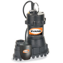 Oferta Bomba Sumergible Agua Sucia 1/2 Hp Evans Achique