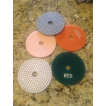 Lijas De Diamante Para Pulir Marmol Granito Concreto $90