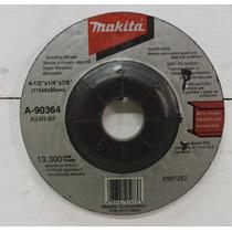 Disco De Corte De 4 ½ Makita De 6 Mm Para Metal Y Desbaste