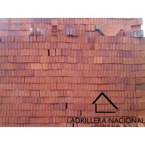 Mt2 Ladrillo Tabique Rojo 7x14x28 100% Rustico 100% Barro