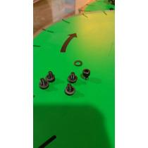 Tornillos 6mm Plato Martelinado Busarda Sandblast Martelinar