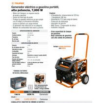 Generador Electrico A Gasolina 7000 Watts