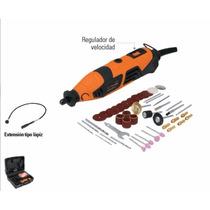 Moto Tool Profesional150 W Truper Con Estuche De Plástico