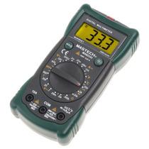 Mastech Ms8233c Multímetro Digital Con Detector De Voltage