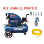 Compresora Kit Para El Pintor Toolcraft