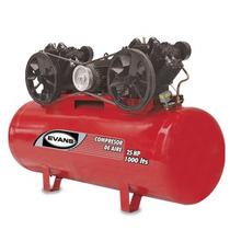 Compresor De Aire Lubricado 30 Hp 1000 L Evans Oferta