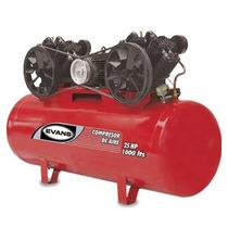 Oferta Compresor 25 Hp 1000 L 175 Psi Marca Evans