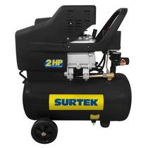 Compresor Lubricado De Aire 25lt 2hp Comp425a Surtek