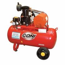 Compresor De Banda Con Motor 1/2 Hp 9302 Goni