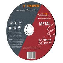 Disco Abrasivo Corte De Metal 14 Pulgadas Truper 11567