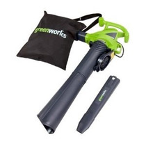 Greenworks 24072 12 Amp De Velocidad Variable Con Cable Blow