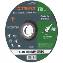 Disco Para Corte De Piedra Tipo 27 Diametro 7