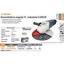 Esmeriladora Angular 9 Industrial 1800w