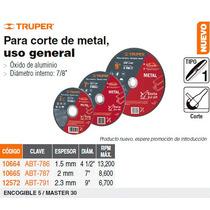 Disco De Corte De Metal 7 Tipo 1 Economico
