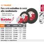 Disco Corte Extrafino De Metal 7 Espesor 1.8mm