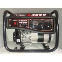 Generrador De Luz 4500 Watts A/manual Marca Poweren