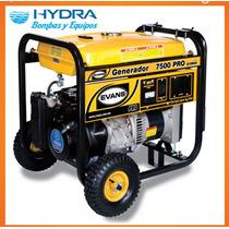 Generador Monofásico De 7,500 W Motor Yamaha De 12 Hp