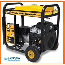 Generador Trifásico De 14 Kva Motor Thunder De 22 Hp