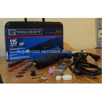 Mototool Rectificador Toolcraft Profesional Con 40accesorios
