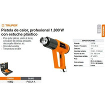 Pistola De Calor Truper Profesional 1800 W