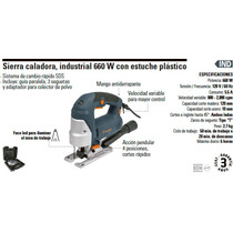 Sierra Caladora Industrial 660w Truper 15659