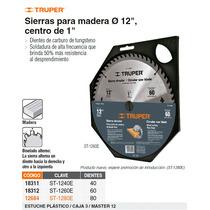 Sierra Circular P/ Madera 12 80 Dientes