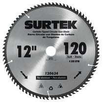 Disco Para Sierra Circular 7 1/4in 60 Dientes 120603 Surtek