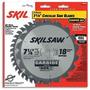 Skil 75312 7-1 / 4 Pulgadas De Hoja De Sierra Combo Pack Con