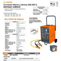 Soldadora Arco Electrico Corriente Alterna/directa 300-200a