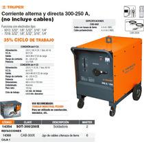 Cable Para Soldadora Sot-300/250x Con Pinza De Tierra