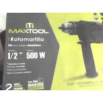 Taladro Maxtool Rversible De 500w Velocidad Regulada