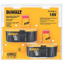 Set De Baterias Dewalt Dc9096-2 Xrp 2.4 Ah 18v