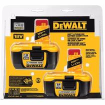 Set De Baterias Dewalt Dc9180-2 Xrp 2.4 A Litio Envio Gratis