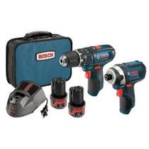 Bosch Clpk241-120 12 Voltios Max Lithium-ion 2-tool Kit Comb