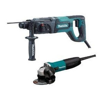 Combo Makita Martillo Perforador - Mini Esmeril Hm4