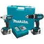 Makita® Lxt211 Rotomartillo + Impactadora 18v Litio