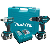Makita® Lxt211 Rotomartillo + Impactadora 18v Litio