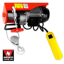 Winch 880 Lbs Electrico 110 Volts
