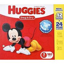 Huggies Snug Y Secos Pañales Tamaño 3 180 Conde