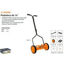 Podadora De 14 Pulg C/sistema De Rodillo Ideal Para Jardin