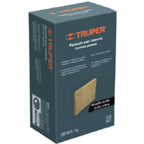 Pigmento Para Cemento Negro Ideal Para Piso 1kg Truper 18072