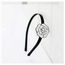 Tiara Para Cabelo Artesanal Com Camélia Branca