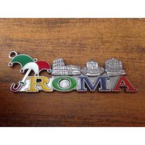 De Roma Italia Para Llavero O Dije