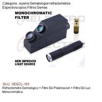 Refractometro Gemas+2 Filtros:polarizado/luz Monocromatica