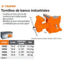 Tornillo De Banco Industrial 5 Acero